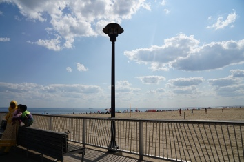 beach at Coney Island
