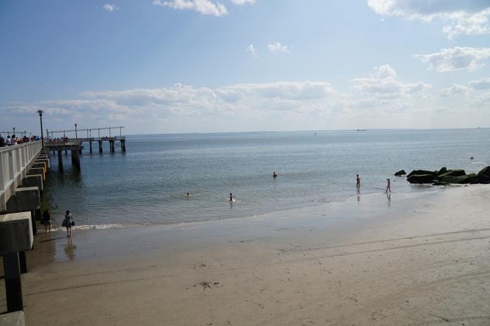beach at Coney Island
