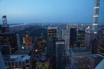 Skyline NYC night