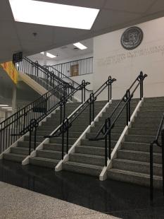main stairs Landstown High School