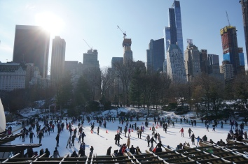 Ice Skating Rink Central Park
