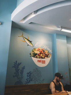 Poke Bar in Honolulu