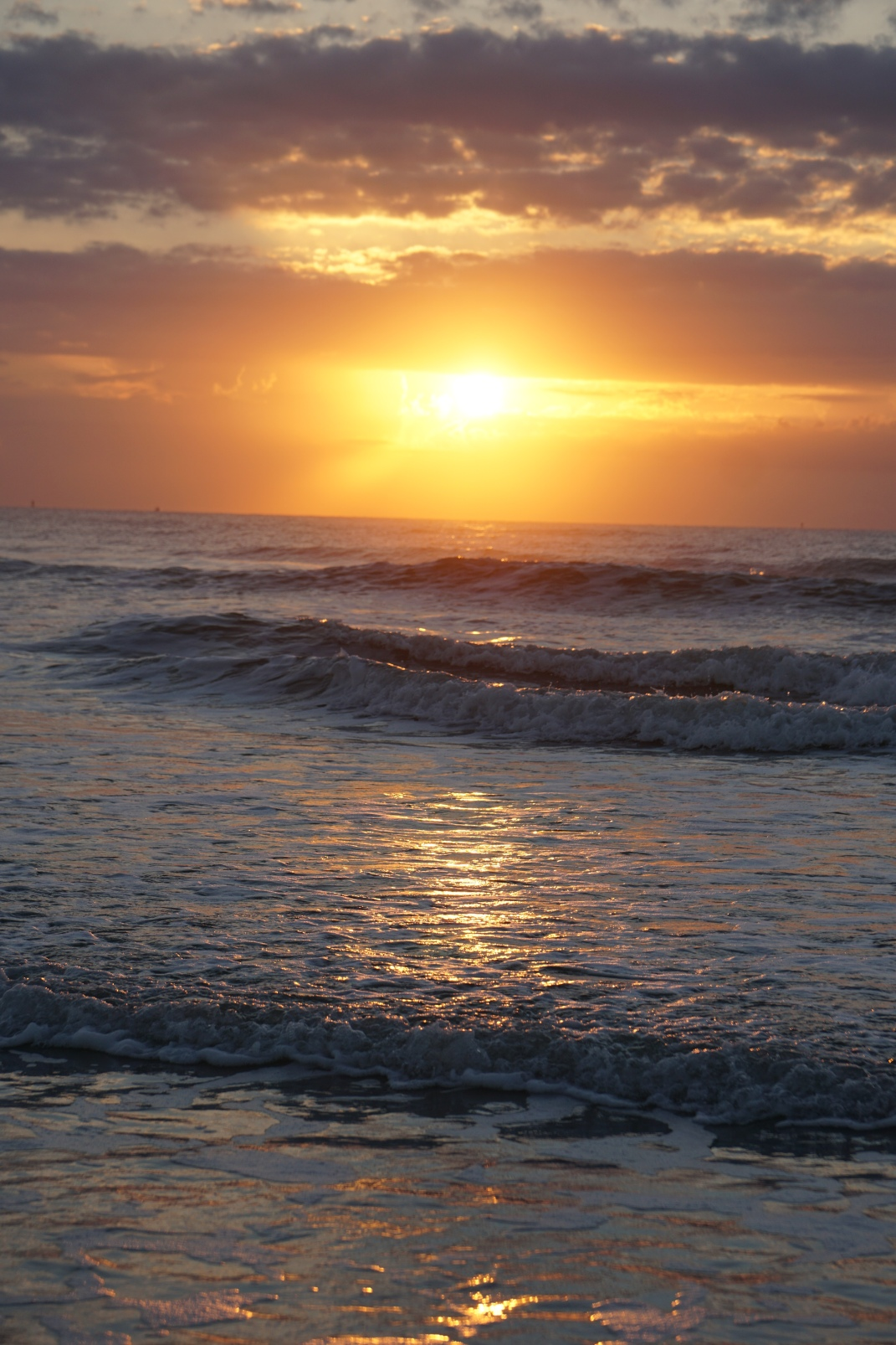 sunrise on Cocoa Beach