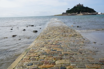 the path to St. Michaels Mount